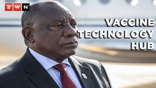 In a joint briefing on 21 June 2021, Director-General of the World Health Organization, Dr Tedros Gebhreyesus, and President Cyril Ramaphosa announced that South Africa will be hosting a technology transfer hub for coronavirus vaccines to scale up production information and education. Ramaphosa said that this is the first step towards Africa producing its own vaccines in the future.