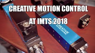 Planetary roller screws aren't all equal — Gillam of Creative Motion explains at IMTS