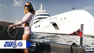 Du thuyền 300 triệu USD của tỷ phú Nga | VTC