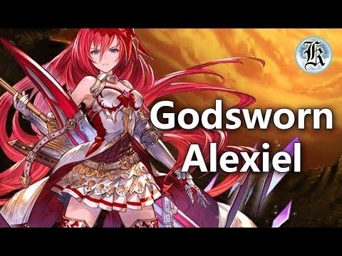 Granblue Fantasy Godsworn Alexiel Showcase
