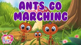 Ants Go Marching One By One Song | Ants Go Marching Song | Nursery rhymes & kids songs | Bumcheek TV