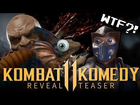 KOMBAT KOMEDY REVEAL TRAILER | Mortal Kombat 11 Funtage Teaser thumbnail