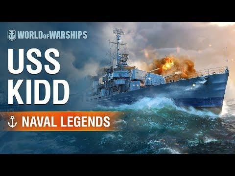 [World of Warships] Naval Legends: USS Kidd