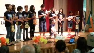 """Akher Ayam Al Sayfieh played by ""Ukuleles for Peace اخر ايام الصيفيه"