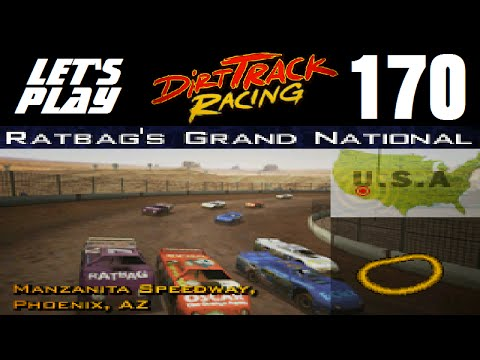 Let's Play Dirt Track Racing - Part 170 - Y12R18 - Manzanita Speedway