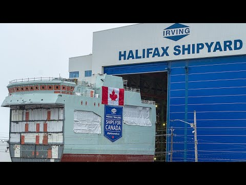 Shipbuilding plan plagued by delays: AG
