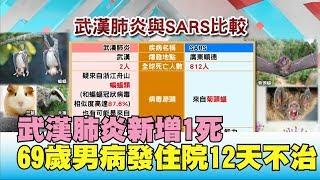 嚇! 武漢肺炎新增1死 69歲男病發住院12天不治 國民大會 20200117 (1/4)