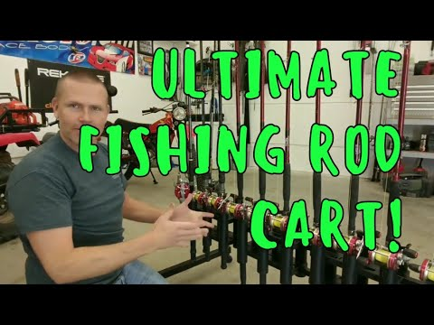 ULTIMATE D.I.Y. FISHING ROD RACK