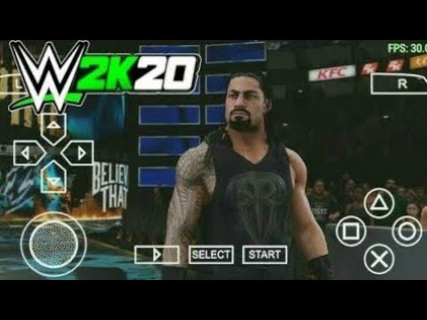 [280MB] WWE 2K20 Download PPSSPP Game For Android | How To Download WWE 2K20 Game For Android | PSP