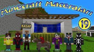 Jokerler Minecraft'ta Kasap Dükkanı Açıyor Minecraft Maceraları 19. Bölüm