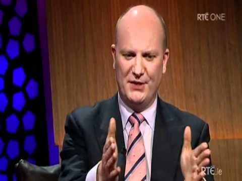 Declan Ganley On The RTÉ Late Late Show Ireland January 13 2012