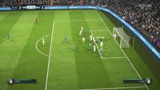 Garith Bale's brilliant goal for Real Madrid  on FIFA 18