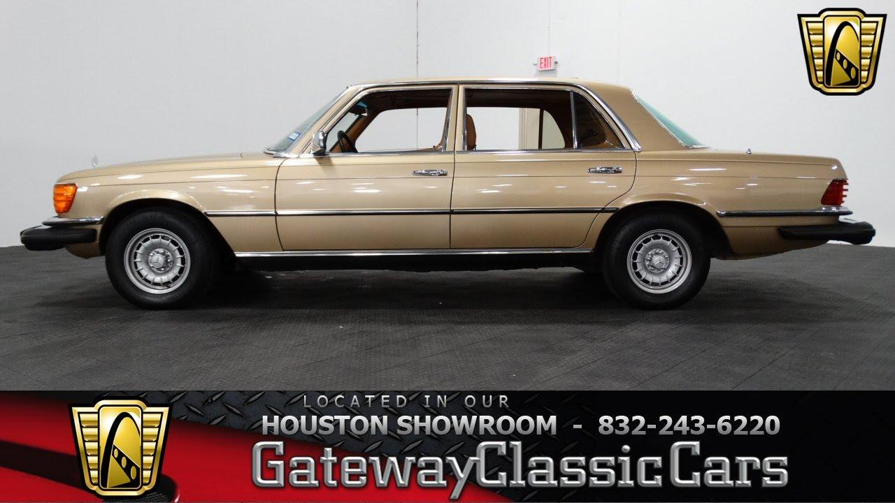 1980 Mercedes Benz 450 Sel 307 Gateway Clic Cars Houston
