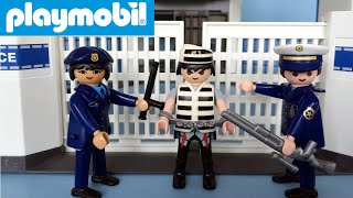 Playmobil Toy Police Headquarters with Prison 6919 unboxing | Playmobil Nederlands gesproken