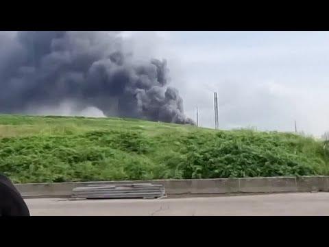 Explosion rocks German chemicals site