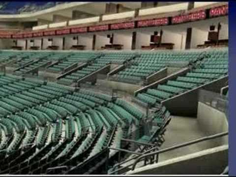 108 row 18 - -VEIW FROM SEATS - LANTETICKETS - FLORIDA PANTHERS