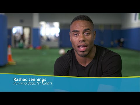 Rashad Jennings Tackles Asthma to Become Professional Athlete