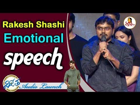 Director Rakesh Shashi Emotional Speech at VIJETHA Audio Launch | Kalyan Dev, Malavika Nair