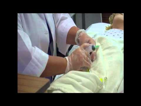 how to clean catheter bag video