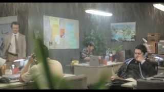 Wrong (2012) - Raining Office Scene