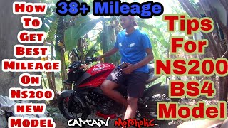 How To Get Best Mileage On NS 200 BS4 2018 | Riding Tips For NS 200 2018