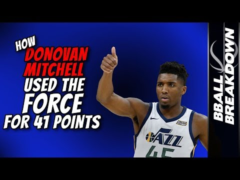 how-donovan-mitchell-used-the-force-for-41-points