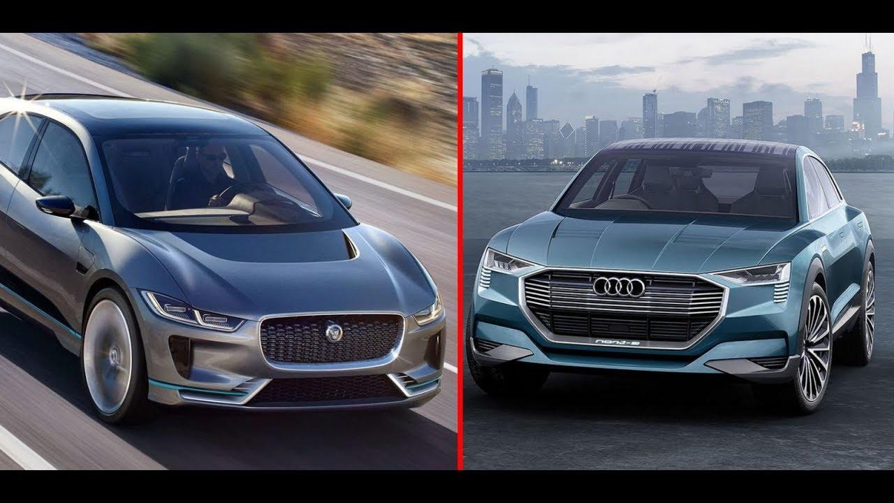 Jaguar I Pace Vs Audi E Tron Youtube