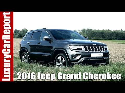 2016 jeep grand cherokee overland diesel review and test. Black Bedroom Furniture Sets. Home Design Ideas