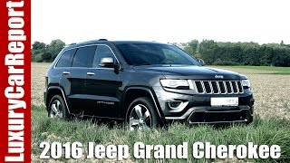2016 Jeep Grand Cherokee Overland Diesel - Review and Test Drive!