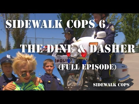 Thumbnail: Sidewalk Cops Episode 6 - The Dine and Dasher (Full Episode)