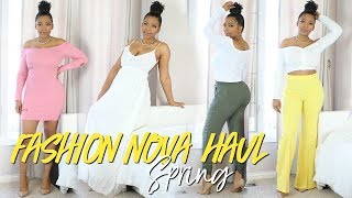 FASHION NOVA SPRING FINDS! SPRING 2018 TRY ON HAUL