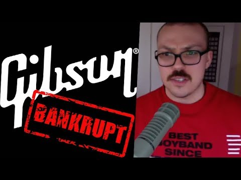 Will Gibson Guitars Go Bankrupt?
