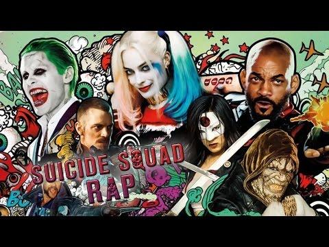 SUICIDE SQUAD RAP - Somos Los Malos | Keyblade