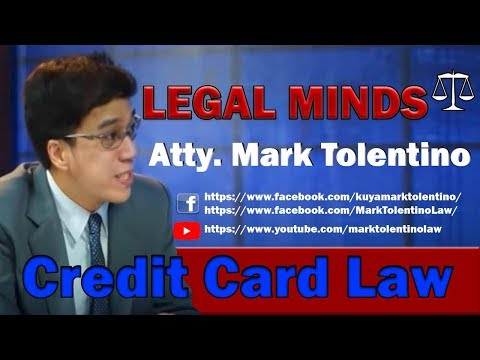 Credit card law