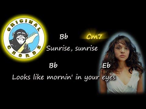 Norah Jones Sunrise Chords Lyrics Youtube