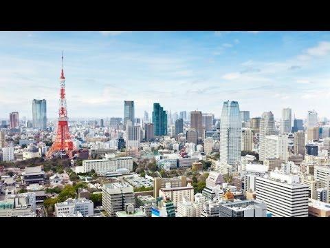 Tokyo Landscape Illustration