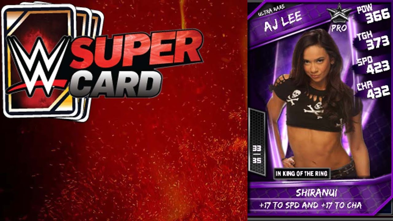 Another Try At Slark Ultra Rare: WWE SuperCard : KOTR Results And Ultra Rare Card Plus