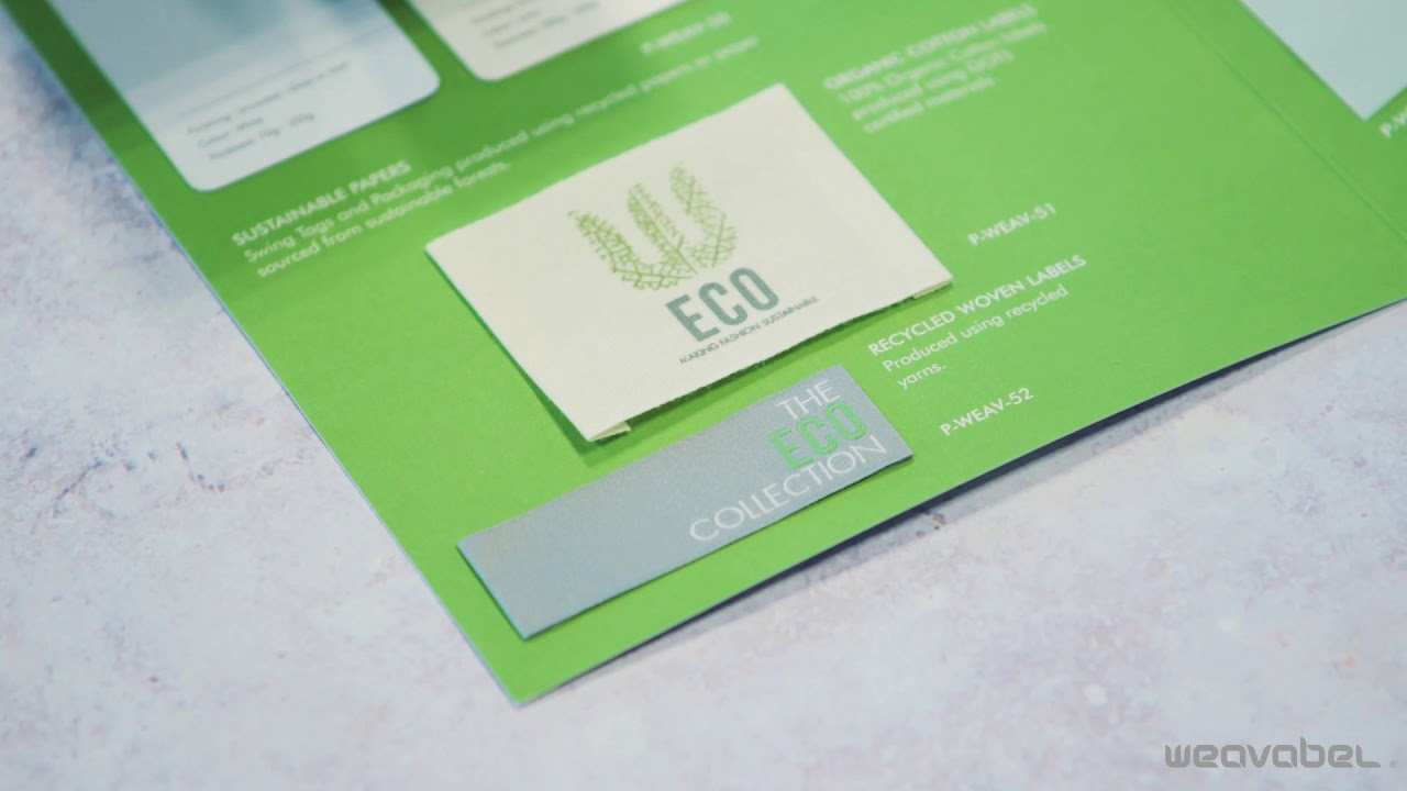 Eco-Friendly Sustainable Materials For Labels