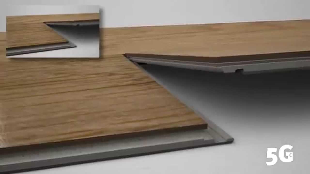clic 5g un syst me clipsable pour la pose flottante de. Black Bedroom Furniture Sets. Home Design Ideas