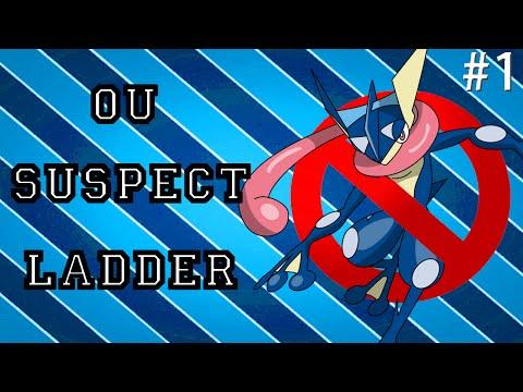Pokemon ORAS OU Showdown Live: Greninja Suspect #1
