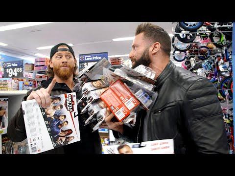 Curt Hawkins & Zack Ryder go on a WrestleMania figure hunt at Walmart