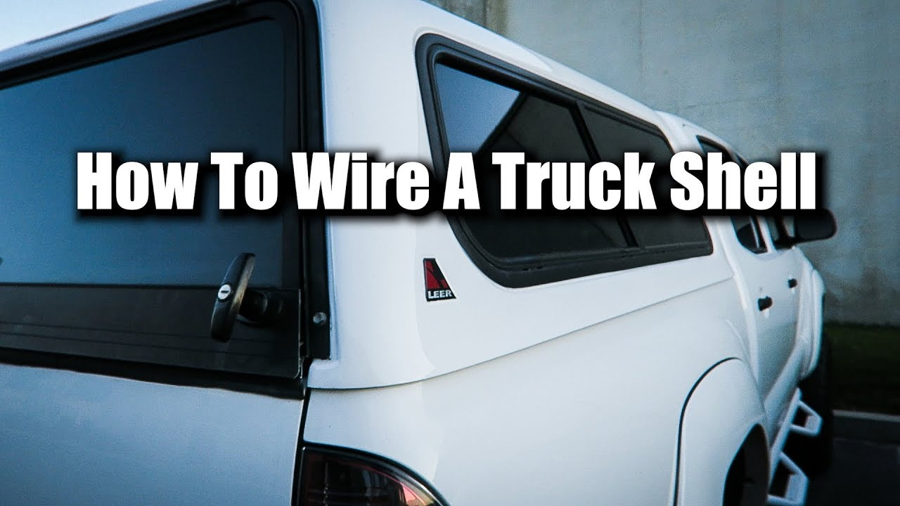 How To Wire A Camper Shell Youtube