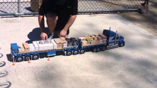 RC Scale model B-Double