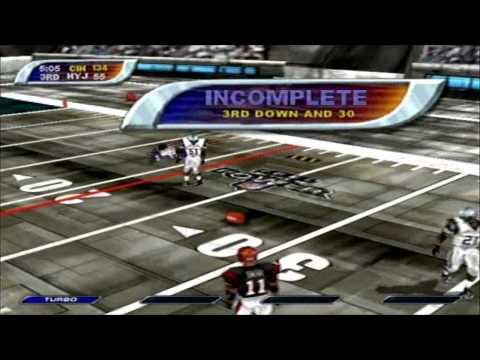 NFL Blitz 2001 - Bengals Vs. Jets