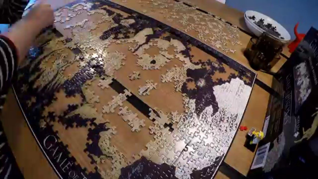 Game Of Thrones 3d Map Of Westeros Puzzle Video Youtube