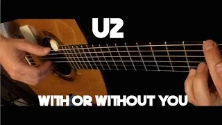 Kelly Valleau - With Or Without You (U2) - Fingerstyle Guitar
