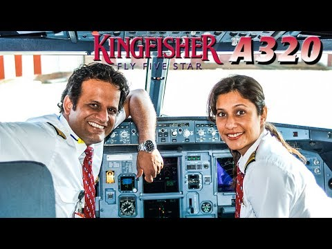 KINGFISHER AIRLINES Cockpit Airbus A320