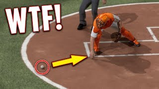 THE WORST GLITCH I HAVE EVER SEEN! MLB The Show 17   Battle Royale