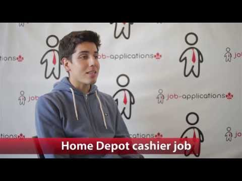 The Home Depot Cashier Job