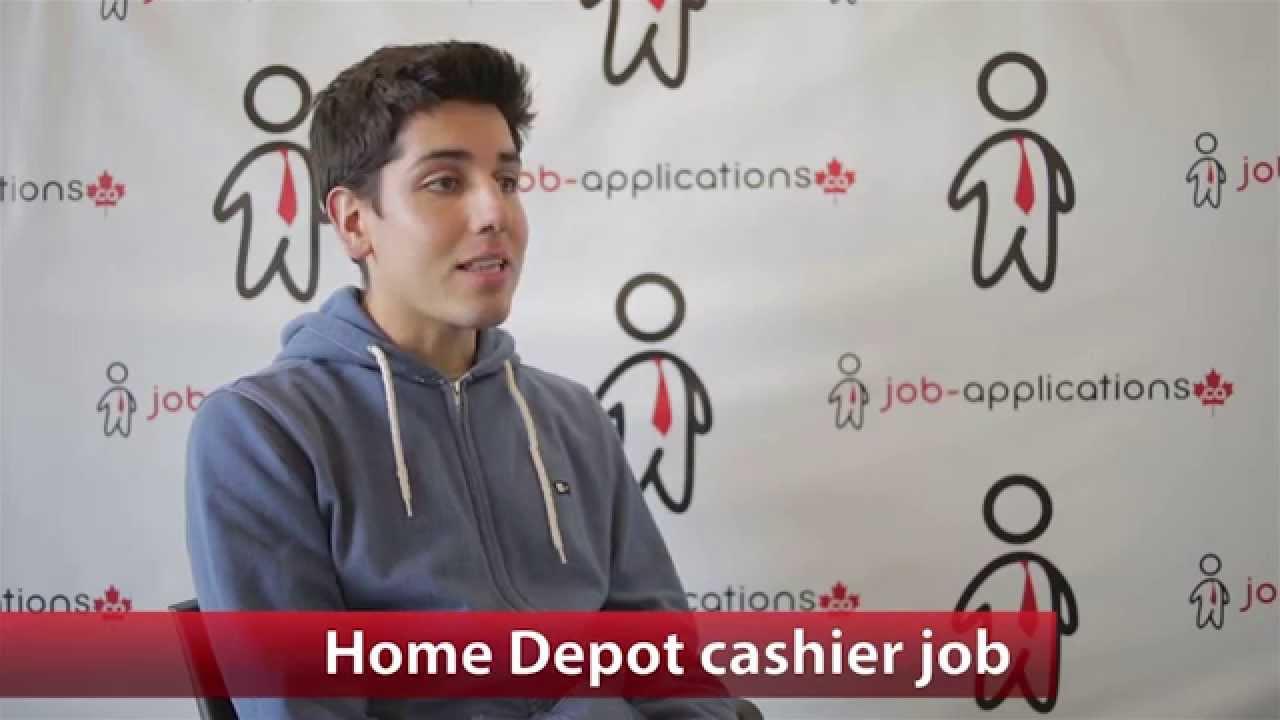 the home depot cashier job description